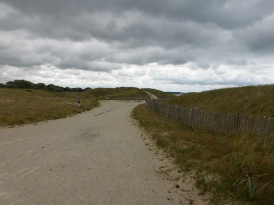 Le Gr suit le littoral