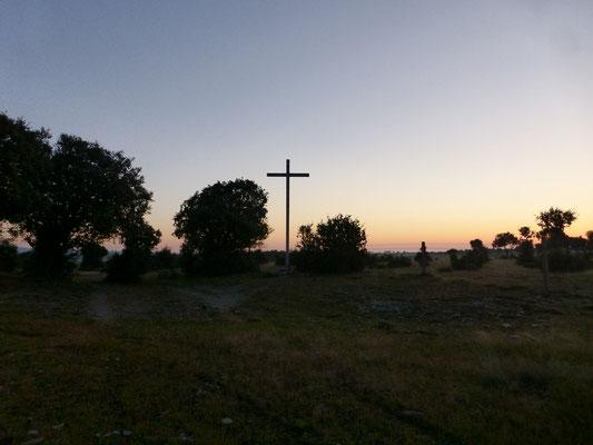 Une croix en bois