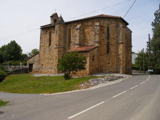 L'église de Villenave