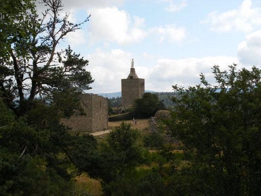 Le château de Luc, Lozère