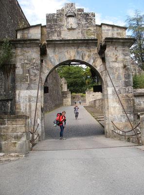 La porte à pont -levis
