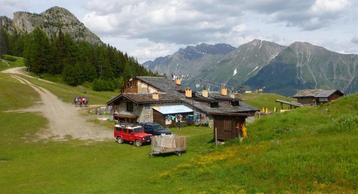 Le Col Chécrouit et le refuge Maison Vieille
