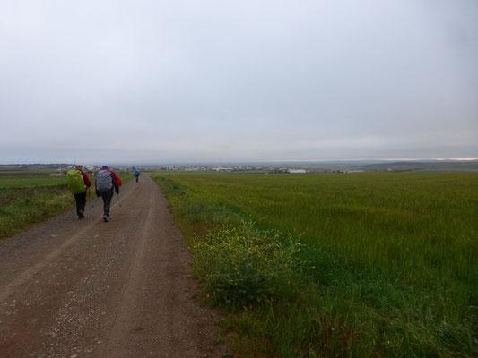 En chemin pour 25 km