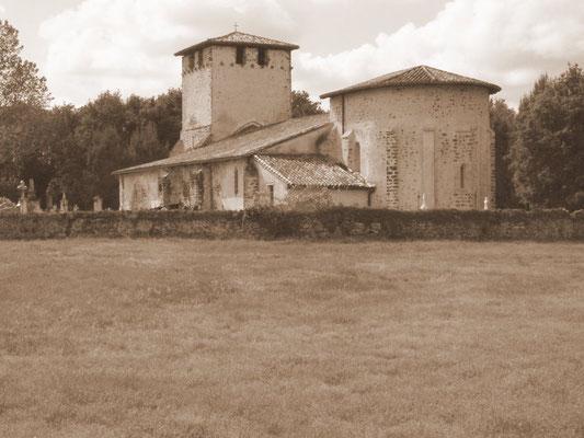 L'église de Mons, commune de Belin