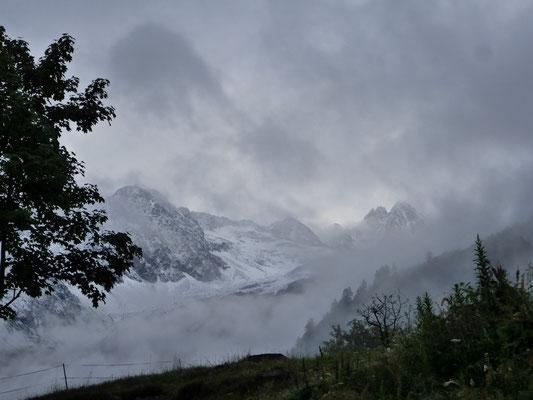 Le matin au refuge de la Boërne