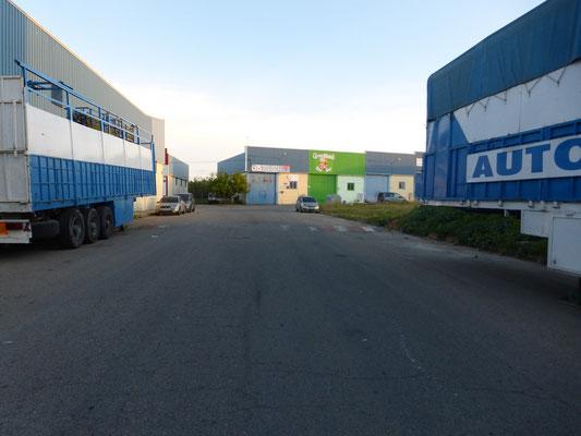 La zone industrielle