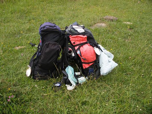 Repos pour les sacs