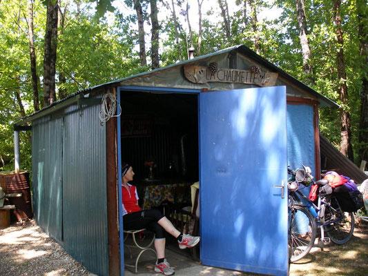 Cabane pour repos