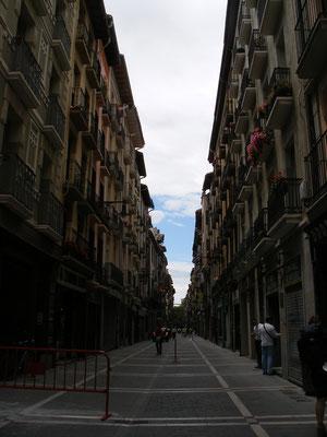 les immenses rues