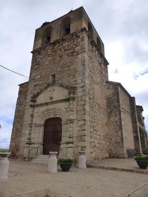 L'église de El Crrascalejo