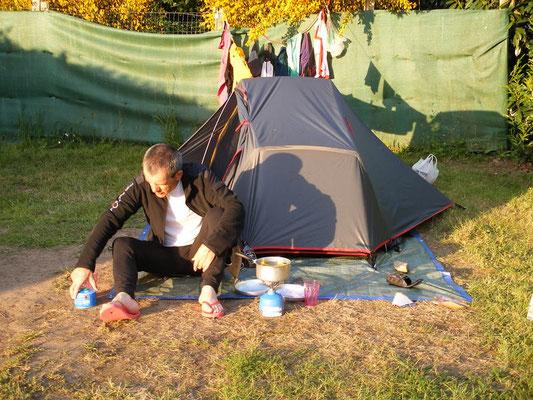 Le camping de Clisson