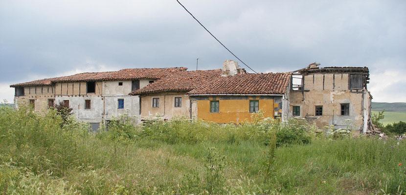Beaucoup de ruines en Espagne