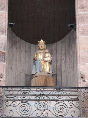 La vierge, église Notre Dame de l'Assomption