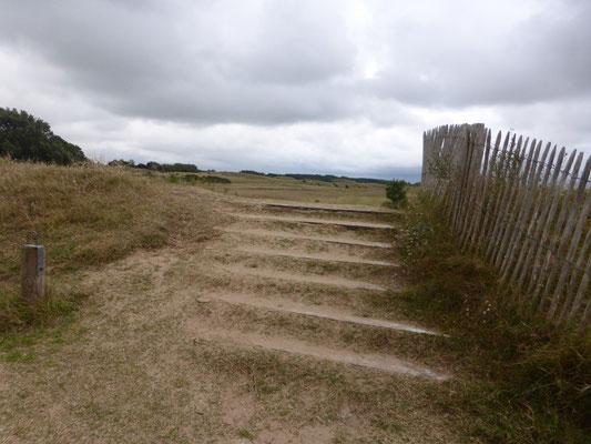 Le commencement des dunes d'Annoville