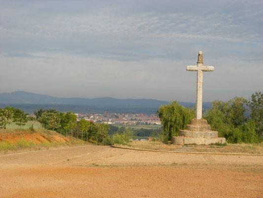 Astorga au loin