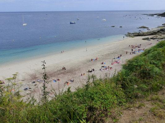 La plage les Sables Rouges