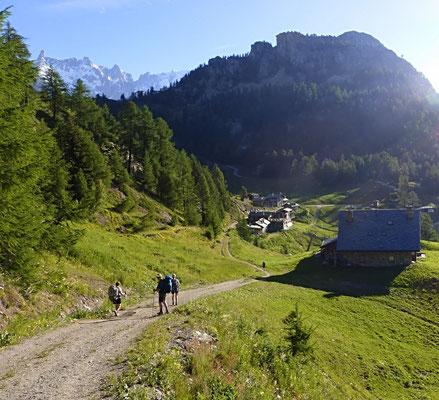 Le hameau de Praz Neyron