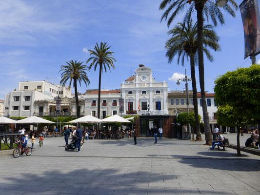 Le centre de la ville