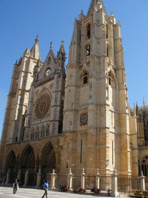 La cathédrale Santa Maria de Leon