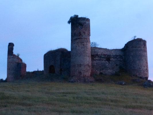 Le castillo de las Torres, 14ème.