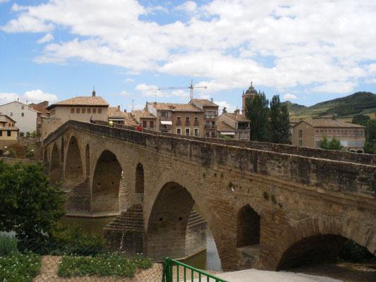 Puente la Reina, le pont roman