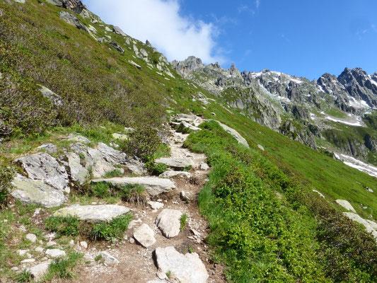 Vers le Col de Brevent