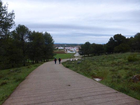 Le village de Los Santos de Maimona