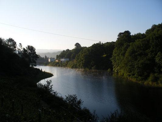 rivière Minho, Portomarin