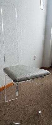 Stuhl mit individuell gestaltbarer Polsterung
