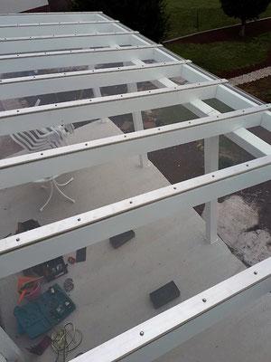 Verglasung von Wintergärten (z.B. Hitzebeständig, bruchfest & UV abweisend)