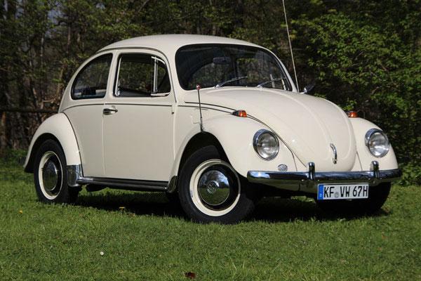 Manuela Marxer, VW 1200, Baujahr 1968