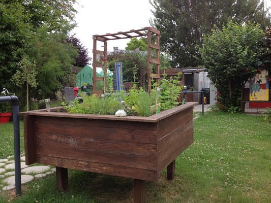 Jardinière haute
