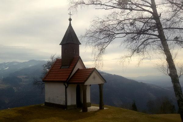 Kleine Kapelle in Vorderwölch