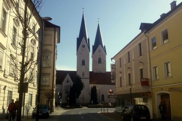 Die Domkirche in St. Andrä