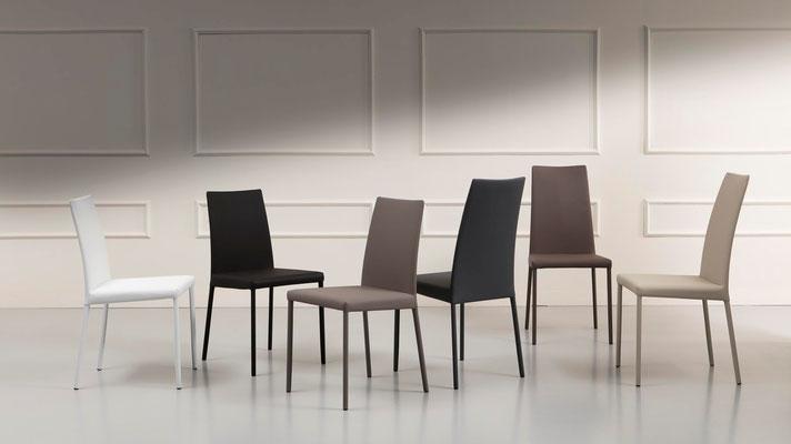 Sedia imbottita, rivestimento a scelta (articolo VKA/VKB)