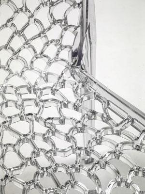 Particolare sedia in policarbonato (articolo 56137)