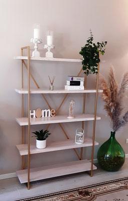 Mobile libreria (modello Luxor), utilizzabile sia a parete che come divisorio tra ambienti, realizzabile su misura (misure foto: Larghezza cm.120, Profondità cm.40, Altezza cm.185), materiali personalizzabili