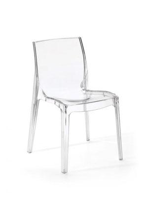 Sedia in policarbonato trasparente (articolo 56139)