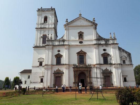 Une des plus belles églises de Goa