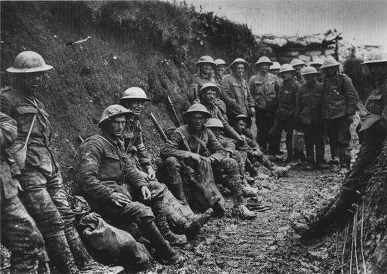 Wachten voor de aanval (Somme)
