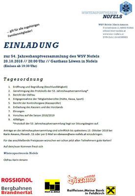 """Einladung als PDF unter """"mehr lesen""""!"""