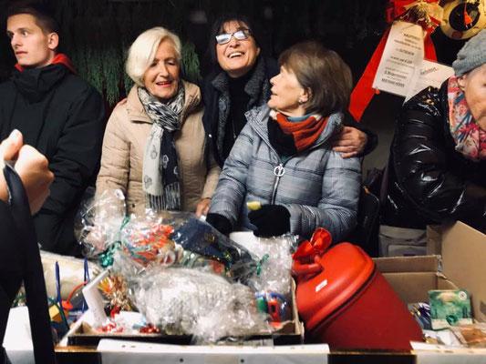 FU-Kreisvorsitzende Adelheid Seifert, FU-Vorsitzende Marita Woznik