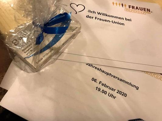 Frauen-Union Puschendorf: Einladung Jahreshauptversammlung