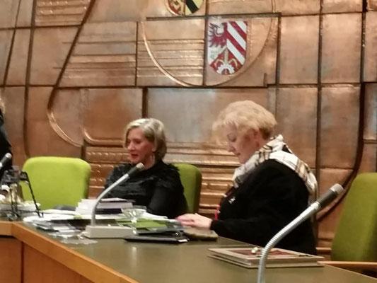 Petra Guttenberg zu Besuch bei der FU Oberasbach