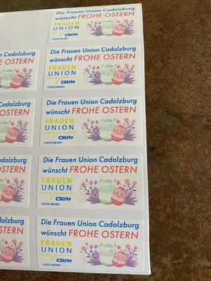 Die Frauen-Union Cadolzburg wünscht frohe Ostern
