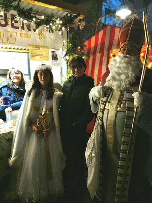 Besuch vom Christkind und vom Nikolaus