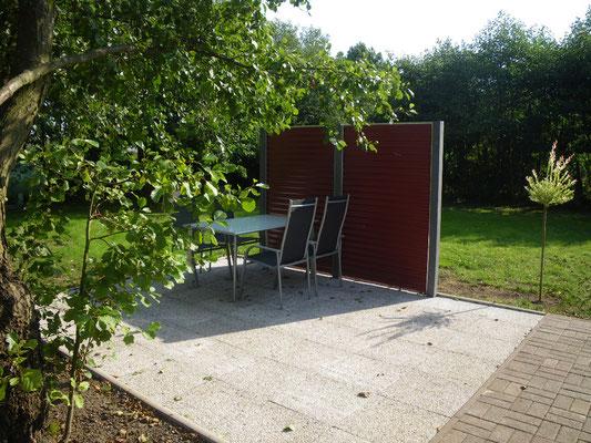 Terrasse, Garten zur allgemeinen Nutzung