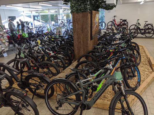 Riese & Müller e-Bikes in der e-motion e-Bike Welt Stuttgart