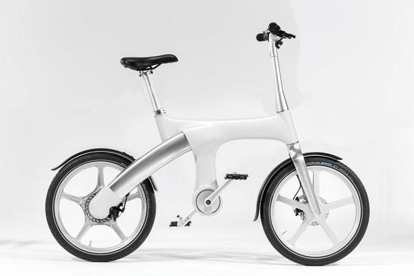 Mando Footloose IM e-Bike - weiß