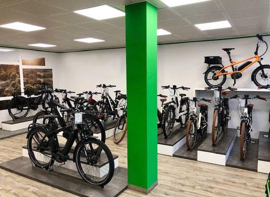 Die e-motion e-Bike Welt in Tönisvorst